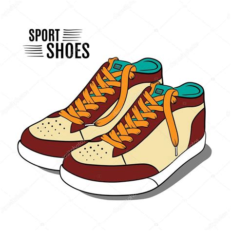 sport shoes vector sport shoes vector illustration stock vector