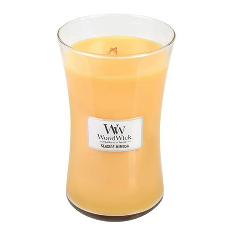 woodwork candles seaside mimosa woodwick candle 22 oz