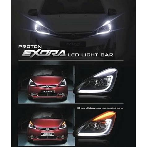 Spare Part Proton Exora buy proton exora l style drl led light bar projector l made in malaysia 178