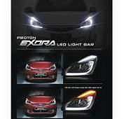 Buy PROTON EXORA L Style DRL LED Light Bar Projector Head