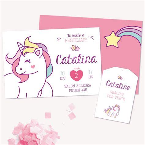 unicornios en imagenes invitaci 243 n unicornio para imprimir en www cumplekits com