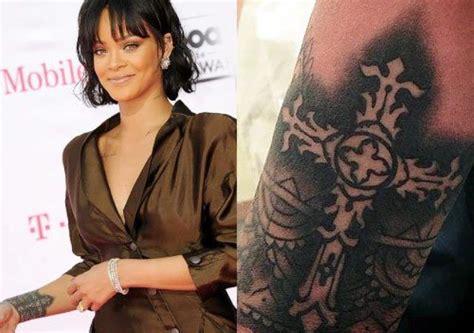 rihanna tattoos rihanna s 24 tattoos their meanings guru