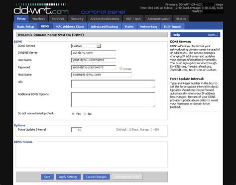 dd wrt dd wrt free dynamic dns service dynu