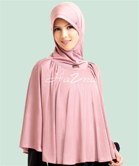 Hazna Haz Cape 004 Tosca jilbab hazna dan shasmira daftar harga jilbab hazna