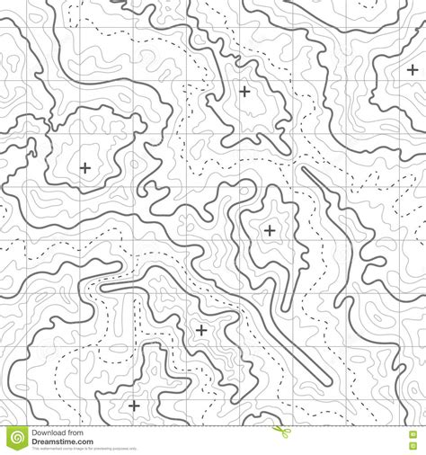 topographic diagram topographic map vector background with mountain texture