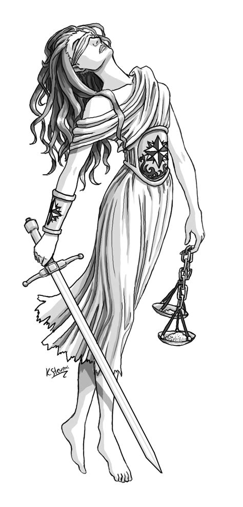 lady justice tattoo design justice social justice year 9 religion