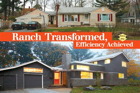 ranch transformed efficiency achieved homebuilding