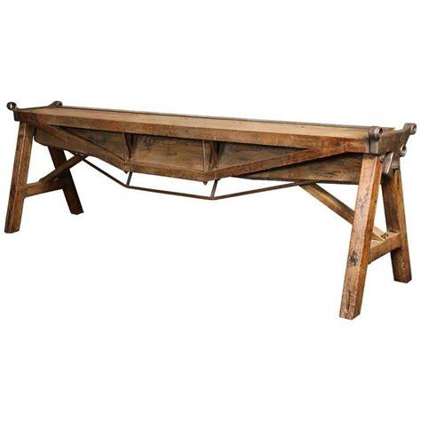 sofa table metal metal brake sofa table vintage industrial by get back inc