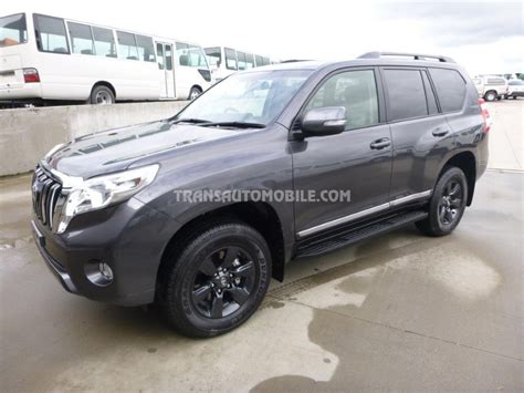 toyota land cruiser black toyota land cruiser prado 150 4x4 brand new ref 1731