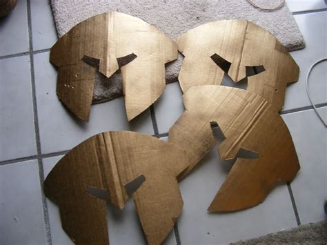How To Make A Spartan Helmet Out Of Paper - 17 best images about warrior craft on armors