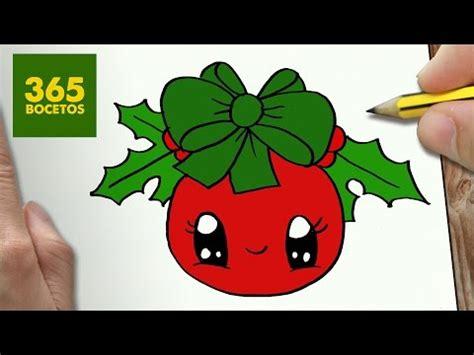 imagenes de dibujos de navidad kawaii como dibujar una bola para navidad kawaii