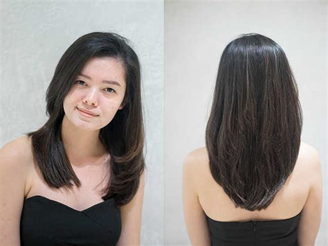 rebonding hair short cut haircut vs rebonding curly hair agent j tries both at