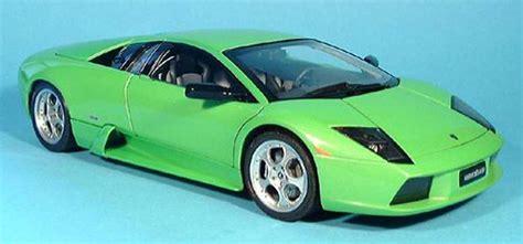 Lamborghini Murcielago Green Lamborghini Murcielago Green 2001 Autoart Diecast Model