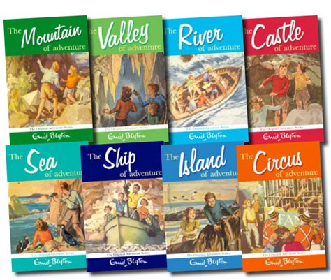 s adventures books enid blyton s adventure series 8 books set collection