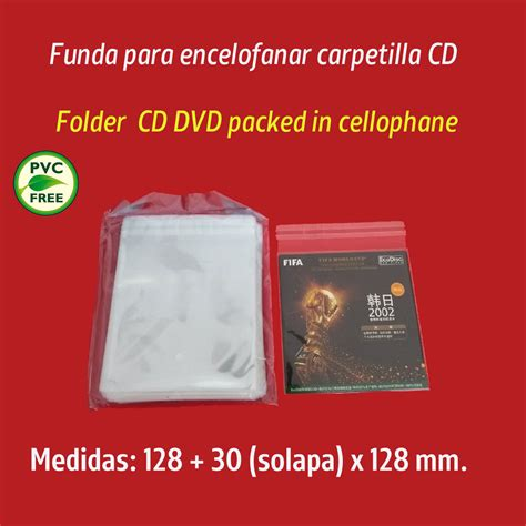 fundas cd carton fundas pl 225 sticas para retractilar cajas y sobres en cart 243 n