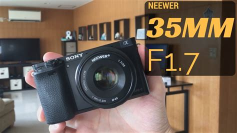 Neewer 35mm F1 7 2 ultra budget 35mm for sony e mount neewer 35mm f1 7