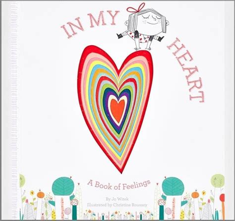libro feelings inside my heart in my heart a book of feelings by jo witek christine roussey 183 readings com au