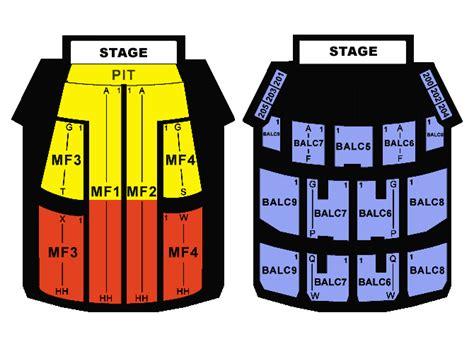 orpheum theatre minneapolis seating map orpheum theatre minneapolis seating chart orpheum