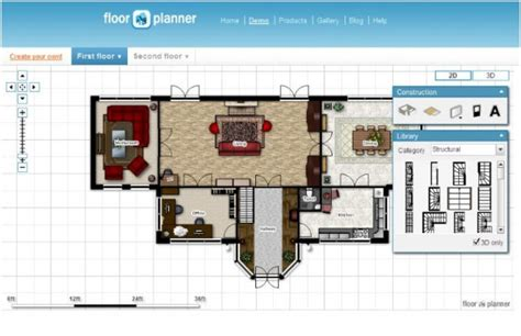 floor plan online tool 10 small blue printer garden planner