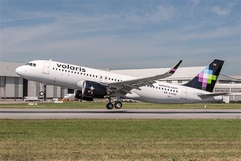volaris airlines volaris takes delivery of its a320neo