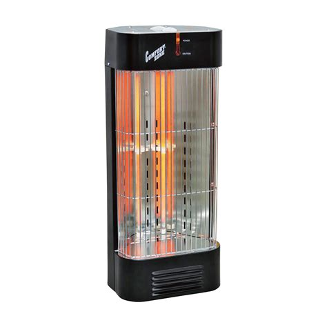 comfort zone heater product comfort zone fan forced quartz heater model 125107