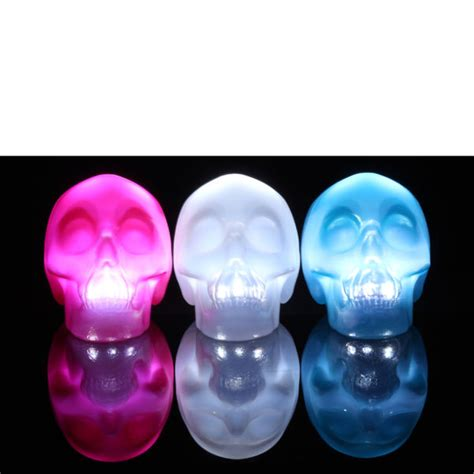 Skull Lights by Skull Light Blue Iwoot