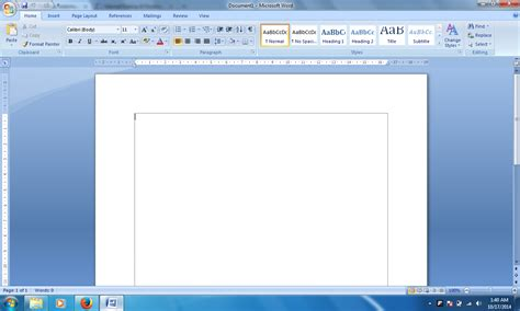 page layout microsoft word 2007 panduan sederhana microsoft office 2007 cara mengatur