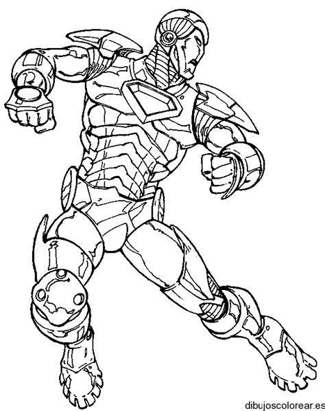 imagenes para dibujar iron man dibujo de iron man corriendo