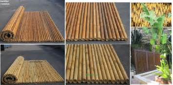 Rollout Awning Quality Bamboo And Asian Thatch 1 Bamboo Fence Panels