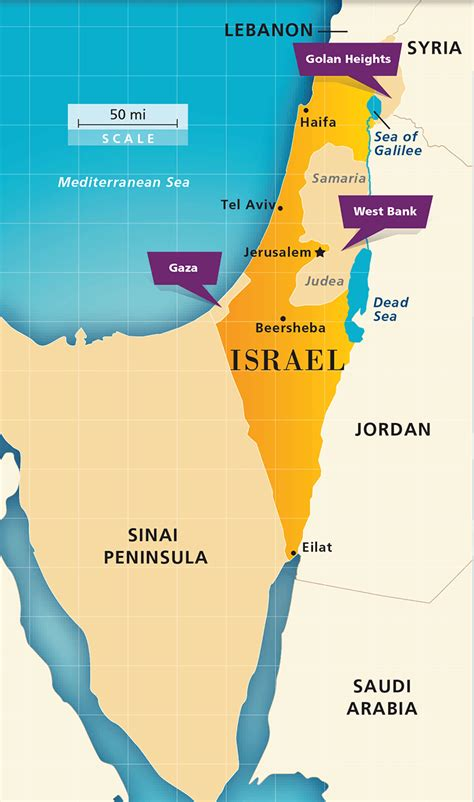 israel map today maps 1967 to 1979 aipac org