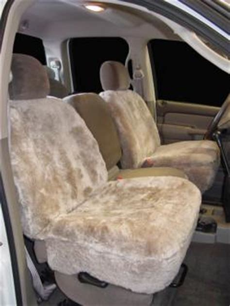 aries sheepskin car seat covers dodge up mini ram 50 d 50 seat covers