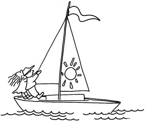 imagenes de barcos navegando dibujos para colorear de un ni 241 o navegando imagui