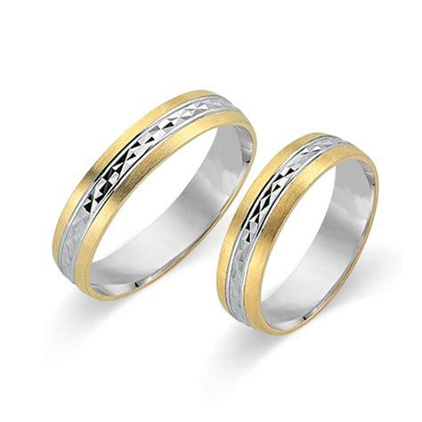 Eheringe 585er Gold by Eheringe 585er Gelb Und Weissgold Wr0415 5s