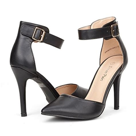 Last 1 Pair St Original Heels pairs oppointed ankle s pointed toe ankle d orsay stiletto pumps black size
