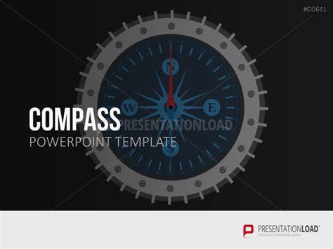 Compass Presentationload Compass Powerpoint Template