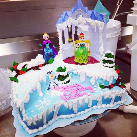 Themed Birthday Cakes At Walmart | disney frozen cake signature sheet cake lizzy s cake