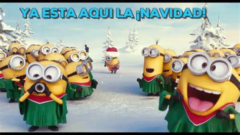 feliz navidad minions cantando feliz navidad chistoso feliz navidad minions