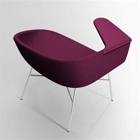 Chair Attached To Table by Moment By Khodi Feiz For Offecct Daily Icon