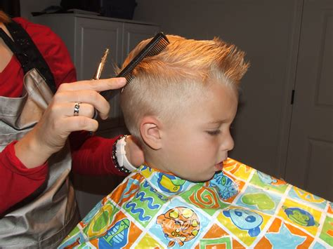 how to cut boys hair like a pro heavenly homemakers simply everthing i love how to cut boys hair the