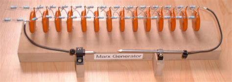 peaking capacitor marx generator marx generator