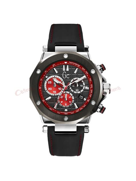 Gc Guess Leather Black guess collection black leather chronograph x72022g2s