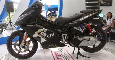 Lu Tembak Motor Matic minerva gtr 150 motor matic sport jalan