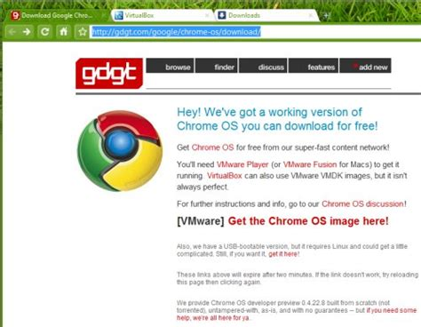 chrome os iso download google chrome os vmware image