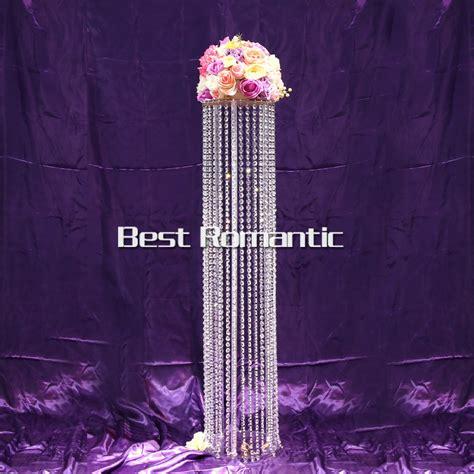 acrylic candelabra centerpiece tall120cm 4pcs lot k9 ferris wheel acrylic wedding