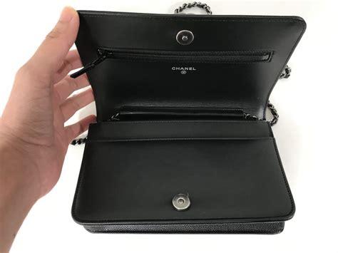 Chanel Boy Caviar Include Box Premium New Hardware 9003 chanel boy wallet on chain black caviar rhw lyxen se