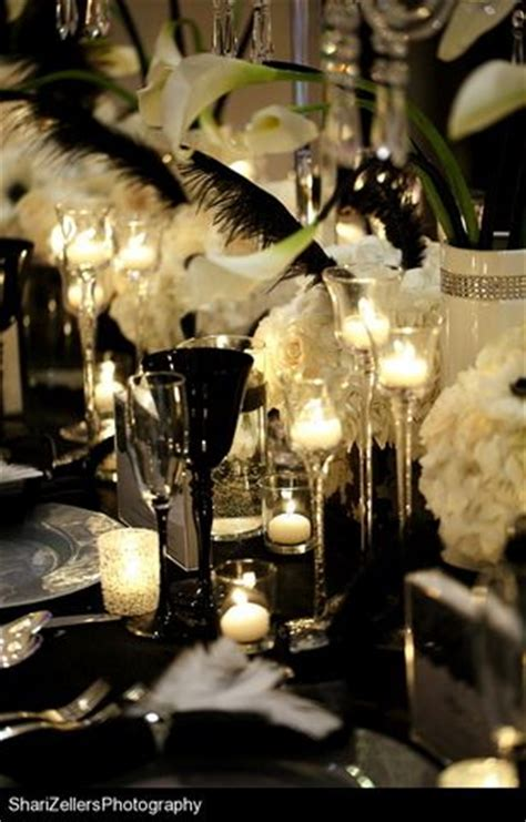 "Wedding Ideas: ""Black Swan"" Themed Wedding Reception Ideas"