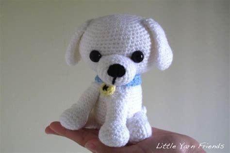 crochet puppy pattern yarn friends crochet pattern lil kino the puppy