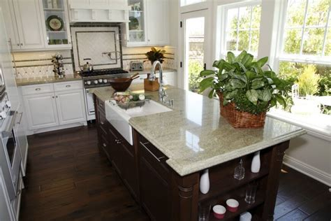 Yellow Kitchen Countertops - 34 kitchens with dark wood floors pictures
