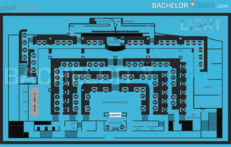 light nightclub floor plan light nightclub las vegas bachelor vegas