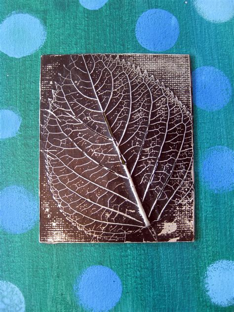framed flowers on copper sheet craft ideas pinterest cassie stephens in the art room leaf relief